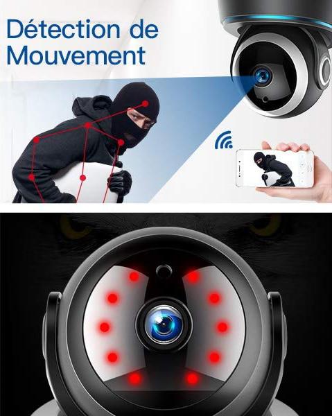 les meilleures cameras de surveillance IP