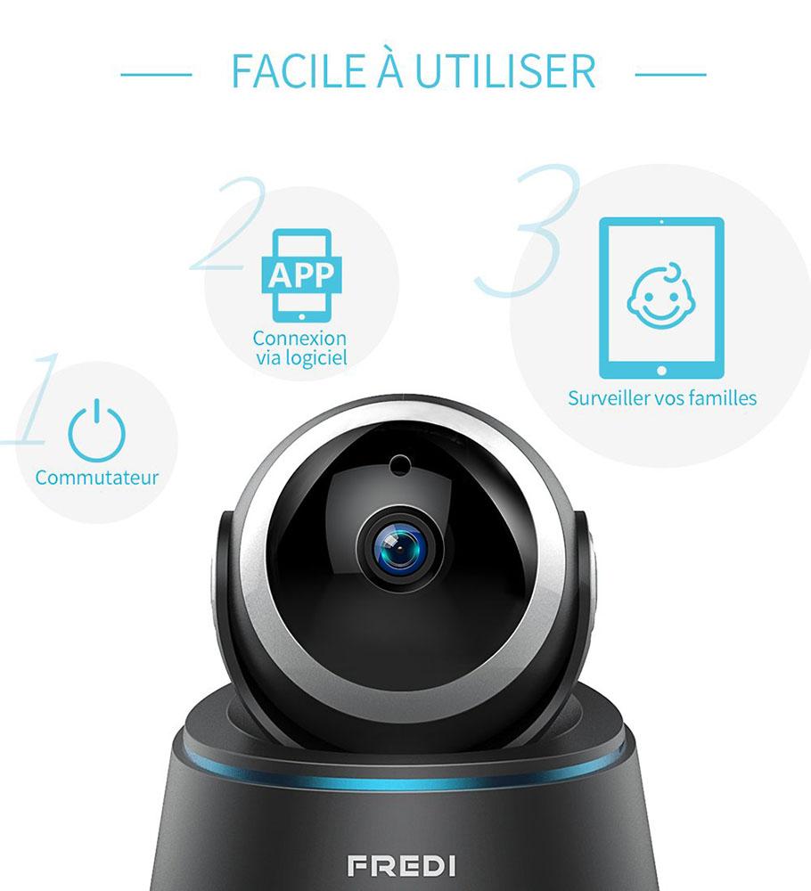 TOP3 des meilleures camera de surveillance IP