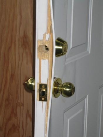 sécuriser sa porte entrée