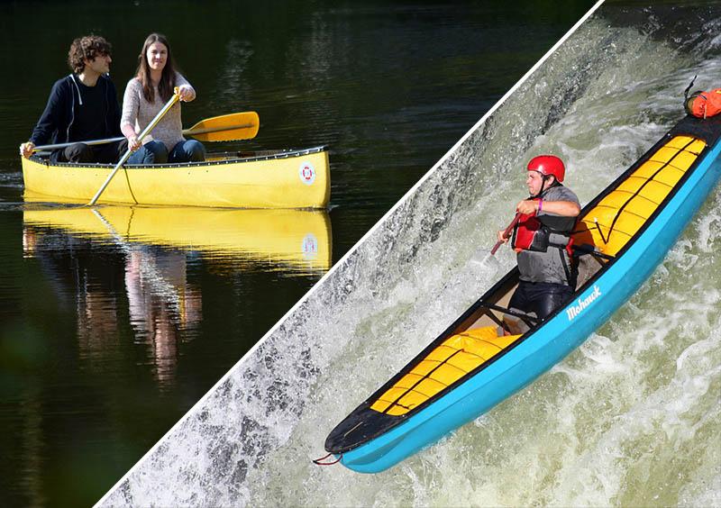 Voici la différence entre un canoë et un Kayak