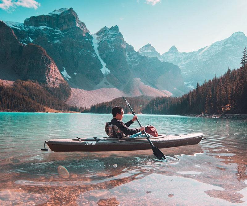 la différence entre un canoë et un Kayak