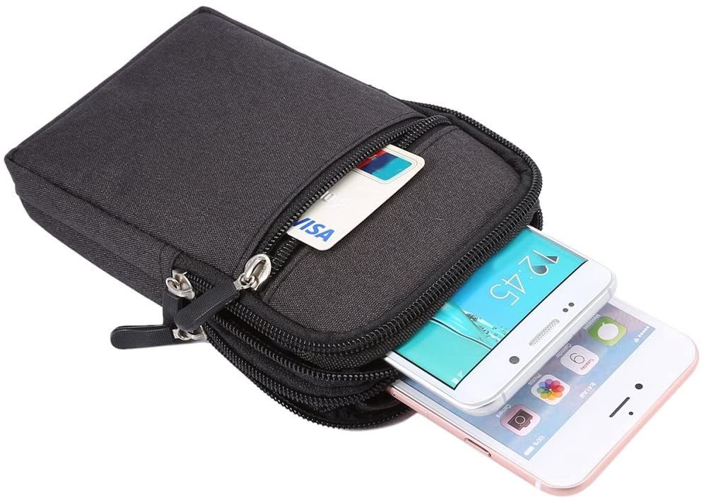 sac ceinture et pochette de voyage