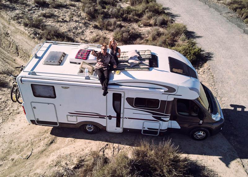 Quel poids peut supporter mon toit de Camping-car
