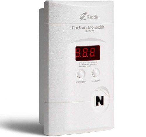 détecteur de monoxyde de carbone pour camping car